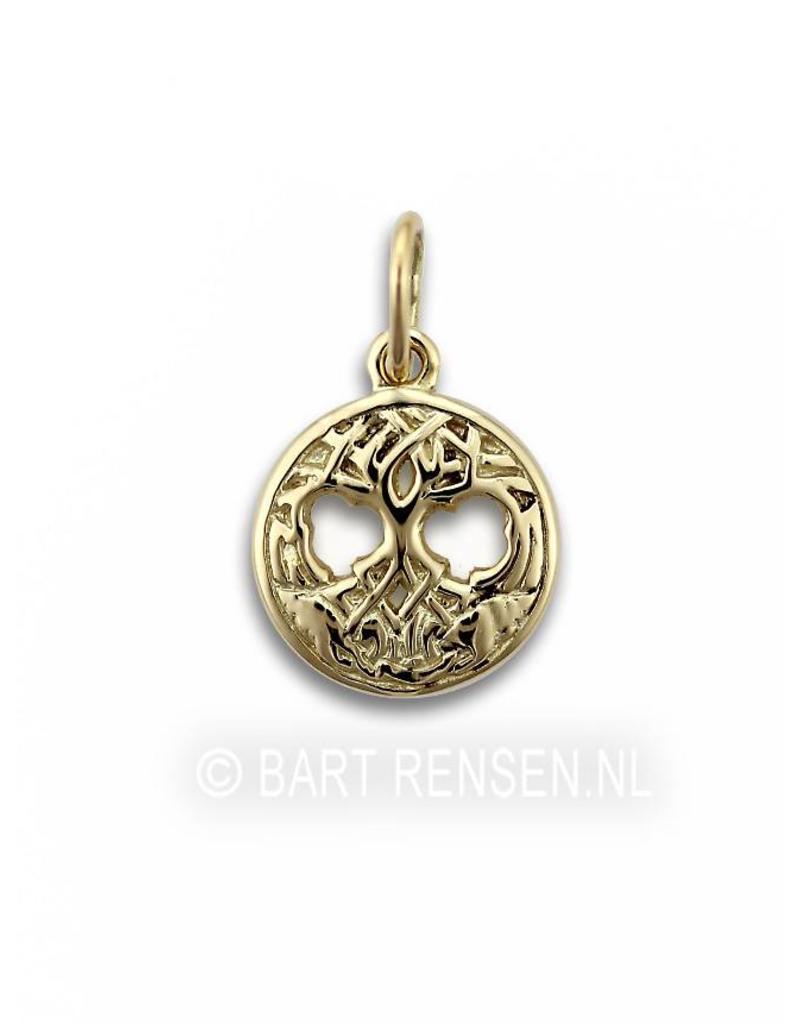 Celtic Tree of Life pendant - 14 crt gold