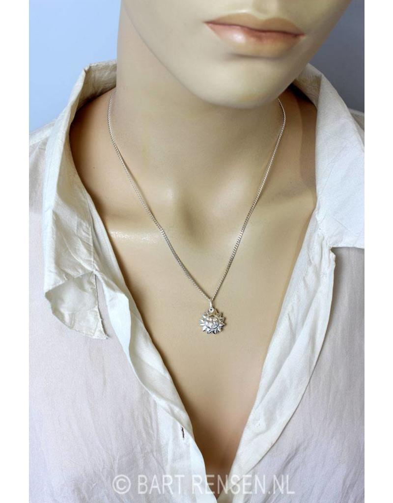 Zon hanger - echt zilver