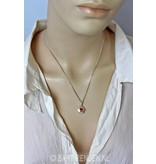 Sex chakra pendant - sterling silver