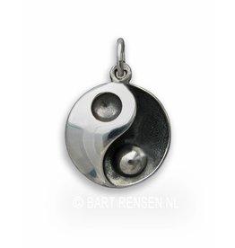 Yin-Yang hanger - zilver