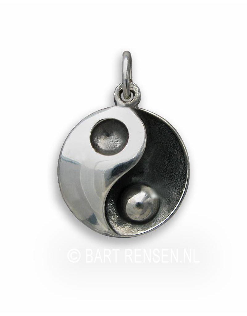Yin-Yang hanger - echt zilver