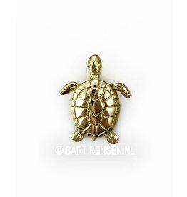 Gouden Schildpad hanger