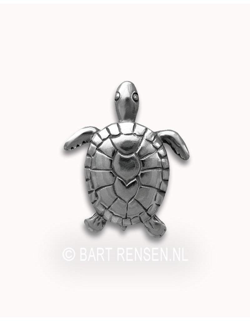 Turtle pendant - sterlingl silver