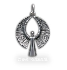 Angel pendant - silver