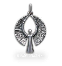 Engel hanger - zilver
