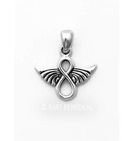 Infinity Angel pendant