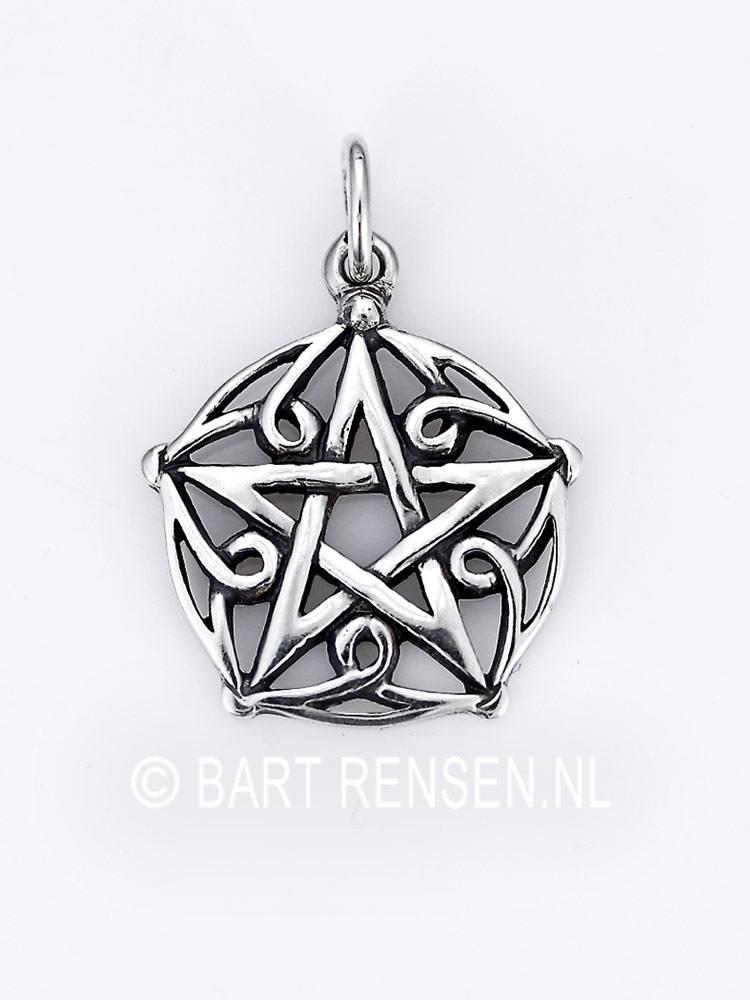 Pentagram Pendant Silver