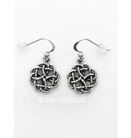 Silver Celtic Knot earrings