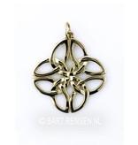 Keltische Knoop - 14 krt goud