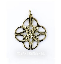 Golden Celtic Knot pendant