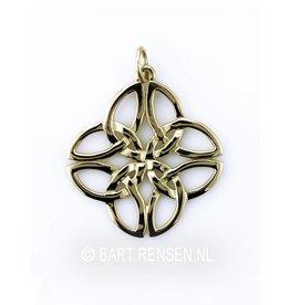Gouden Keltische Knoop hanger