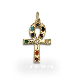 Golden Ankh pendant