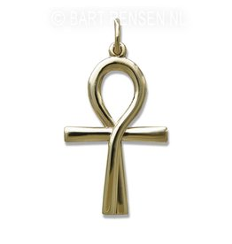 Golden Ankh of Isis pendant