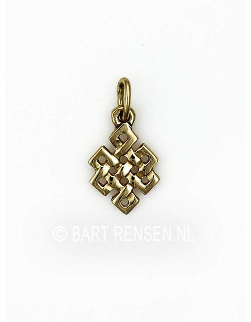 Tibetan Knot - small - Gold 585