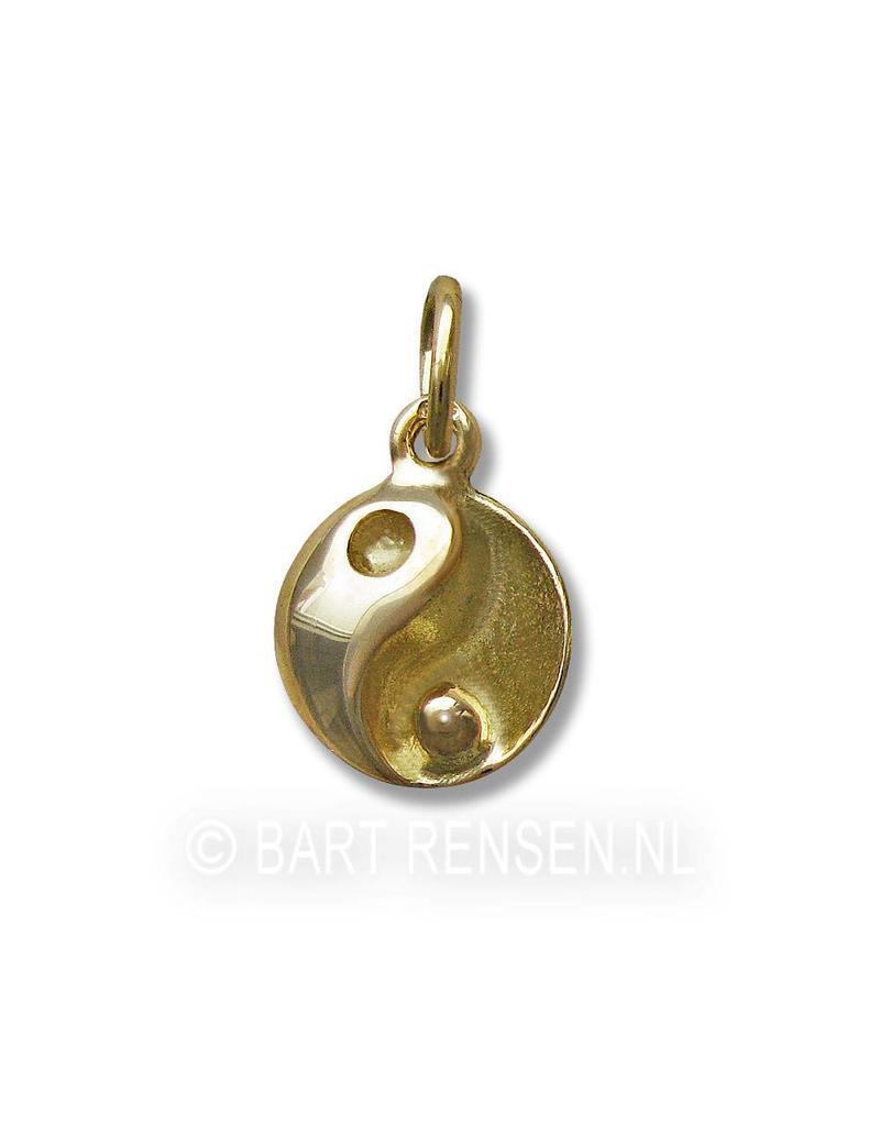 Yin-Yang hangertje - 14 krt goud
