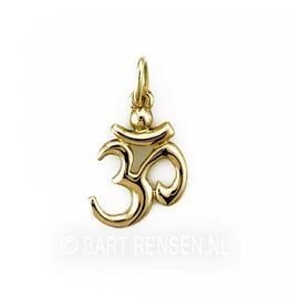 Golden AUM pendant -