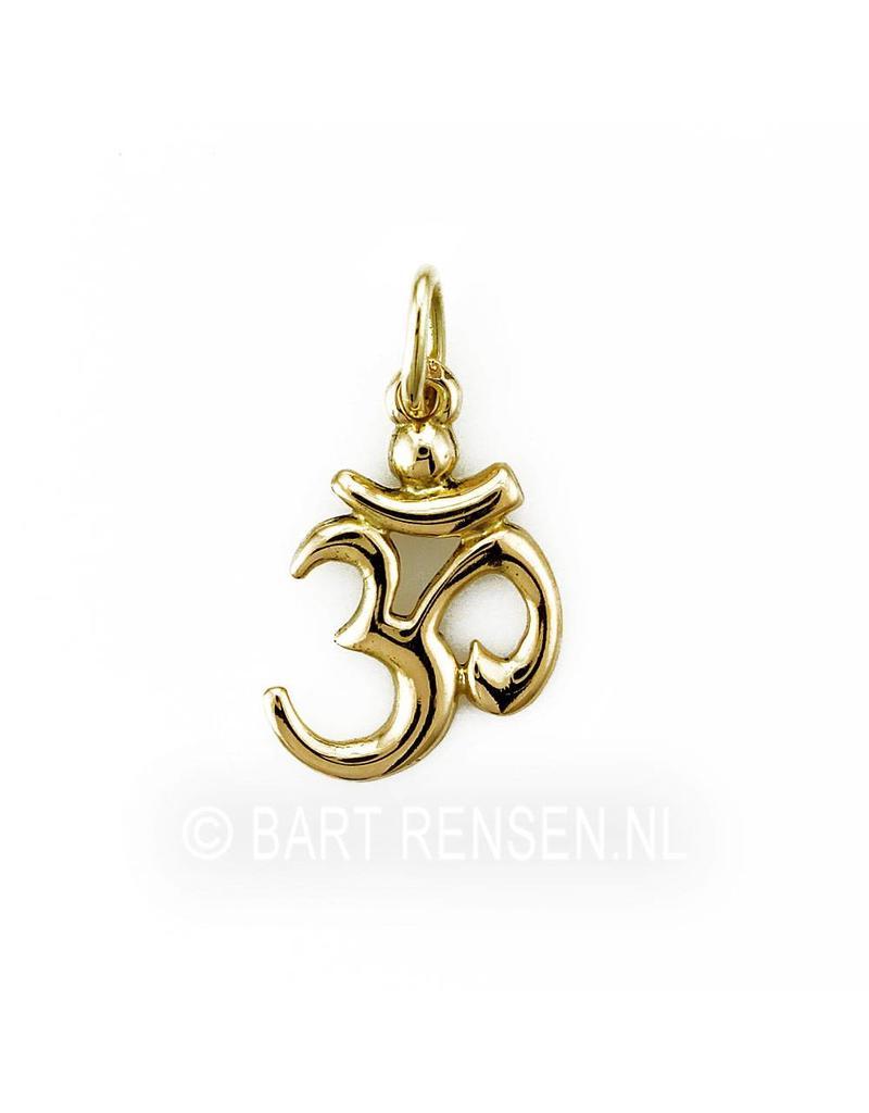 AUM pendant - 14 carat gold