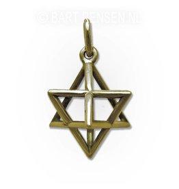 Merkaba pendant - gold