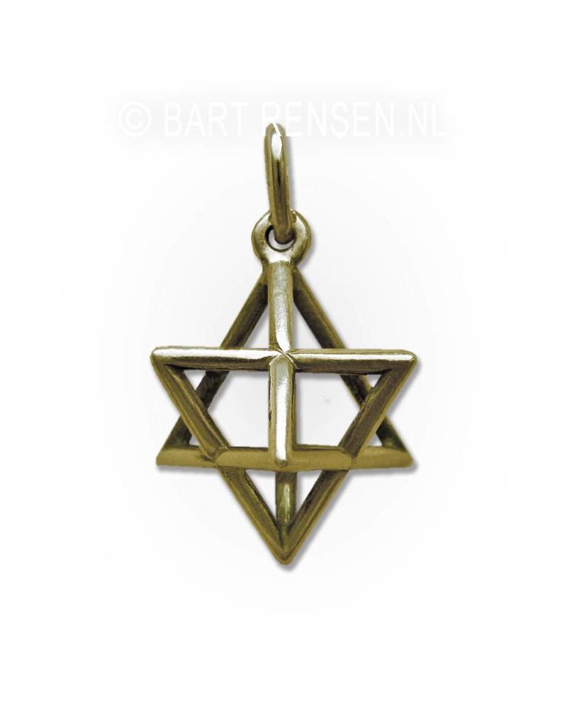 Merkaba pendant - 14 carat gold