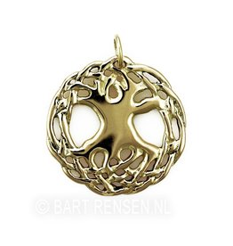 Celtic Tree of Life pendant  - gold