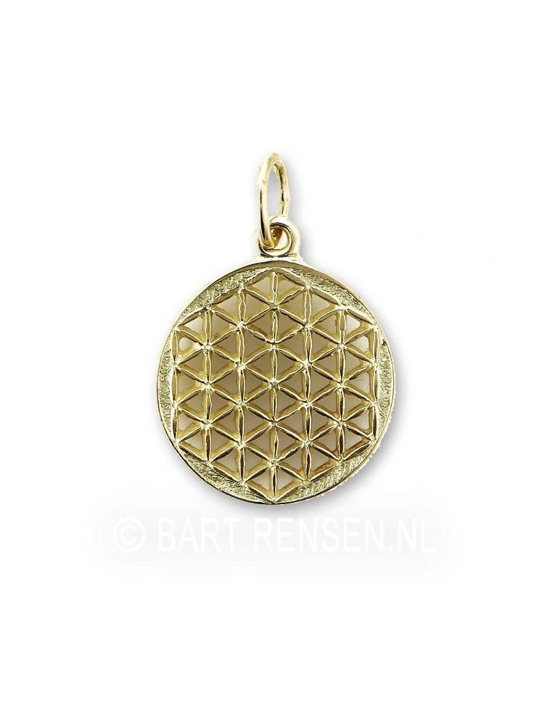 Flower of Life pendant - 14 crt gold