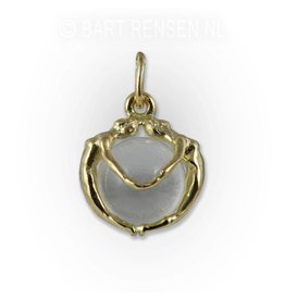 Female pendant - gold