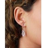 Uil oorhangers - echt zilver