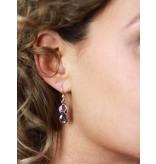 Infinity earrings - sterling silver