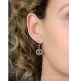 Celtic Tree of Life Earrings - sterling silver