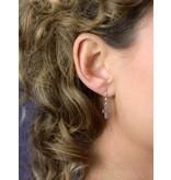 Celtic Cross Earrings - sterling silver