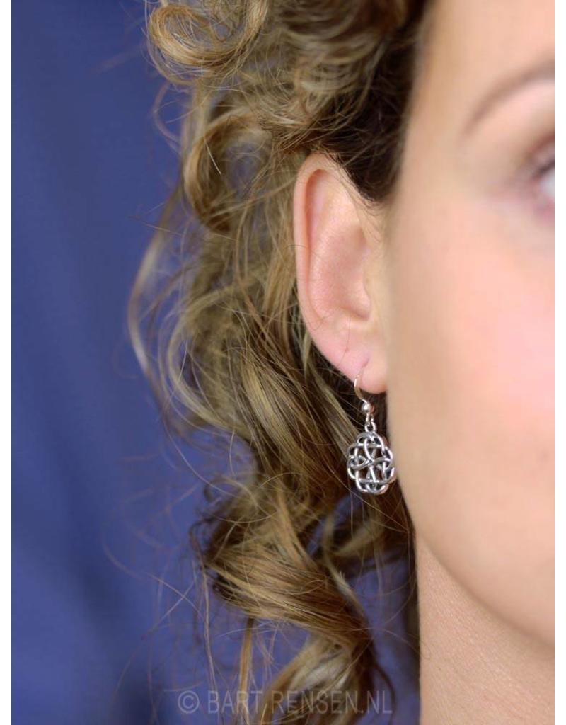 Celtic Knot earrings - sterling silver