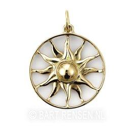 Ash pendant Sun - gold