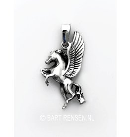Silver Pegasus pendant