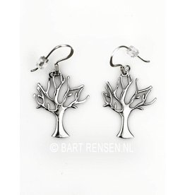 Tree of life earrings - silver