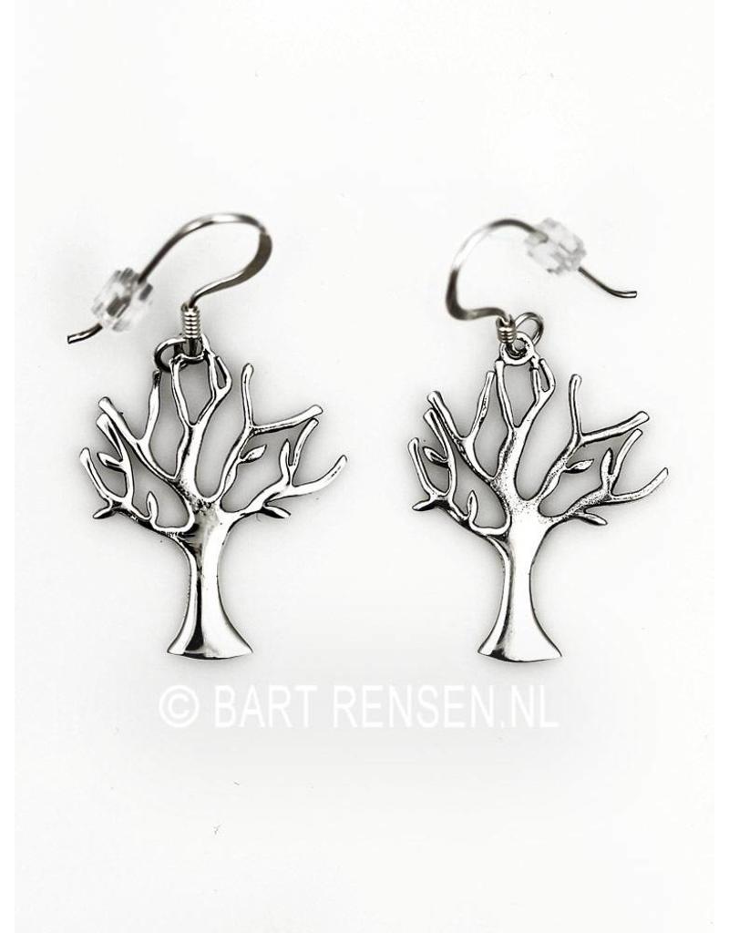 Levensboom Oorhangers - echt zilver