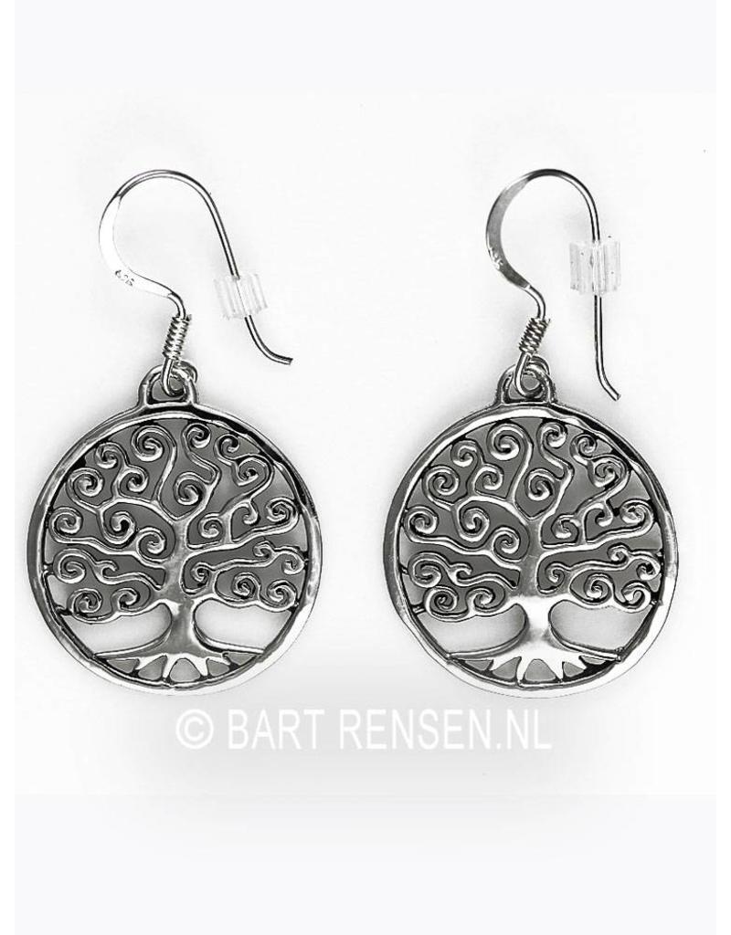 Tree of life earrings - sterling silver