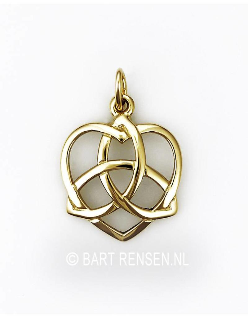 Triquetra pendant - sterling silver or 14 crt gold