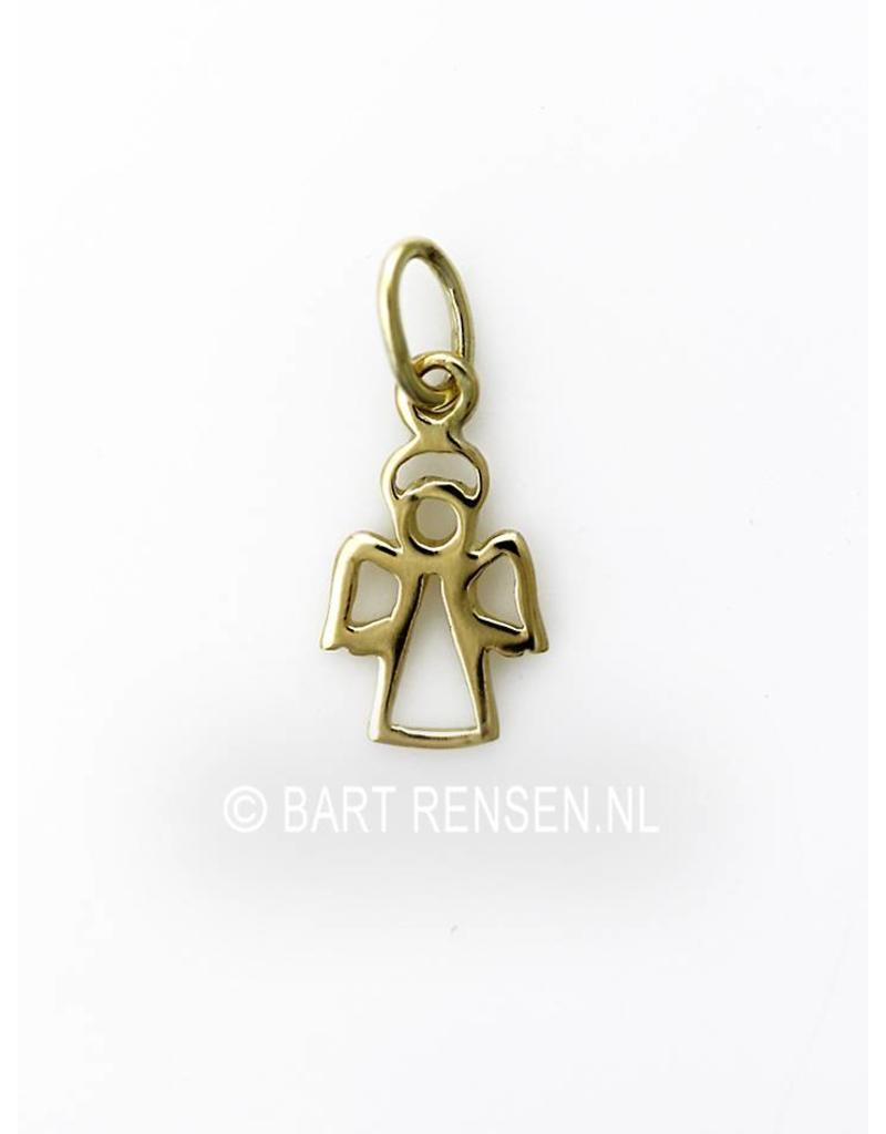 Angel pendant - 14 crt gold