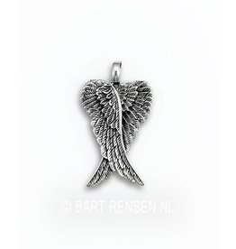Angelwings pendant - silver