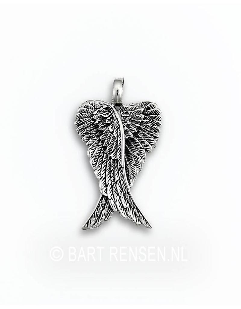 Angelwings pendant - sterling silver