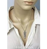 Slangen hanger - echt zilver