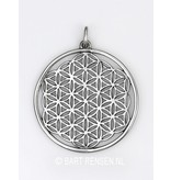 Flower of Life pendant -sterling silver