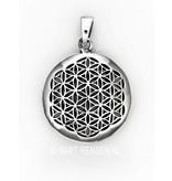 Flower of Life / Seed of Life hanger - echt zilver