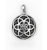 Flower of Life / Seed of Life pendant - sterling silver