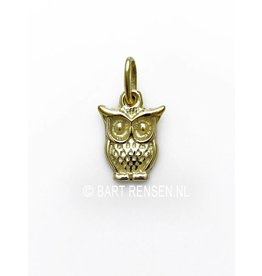 Golden Owl pendant