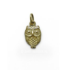 Golden Owl pendant