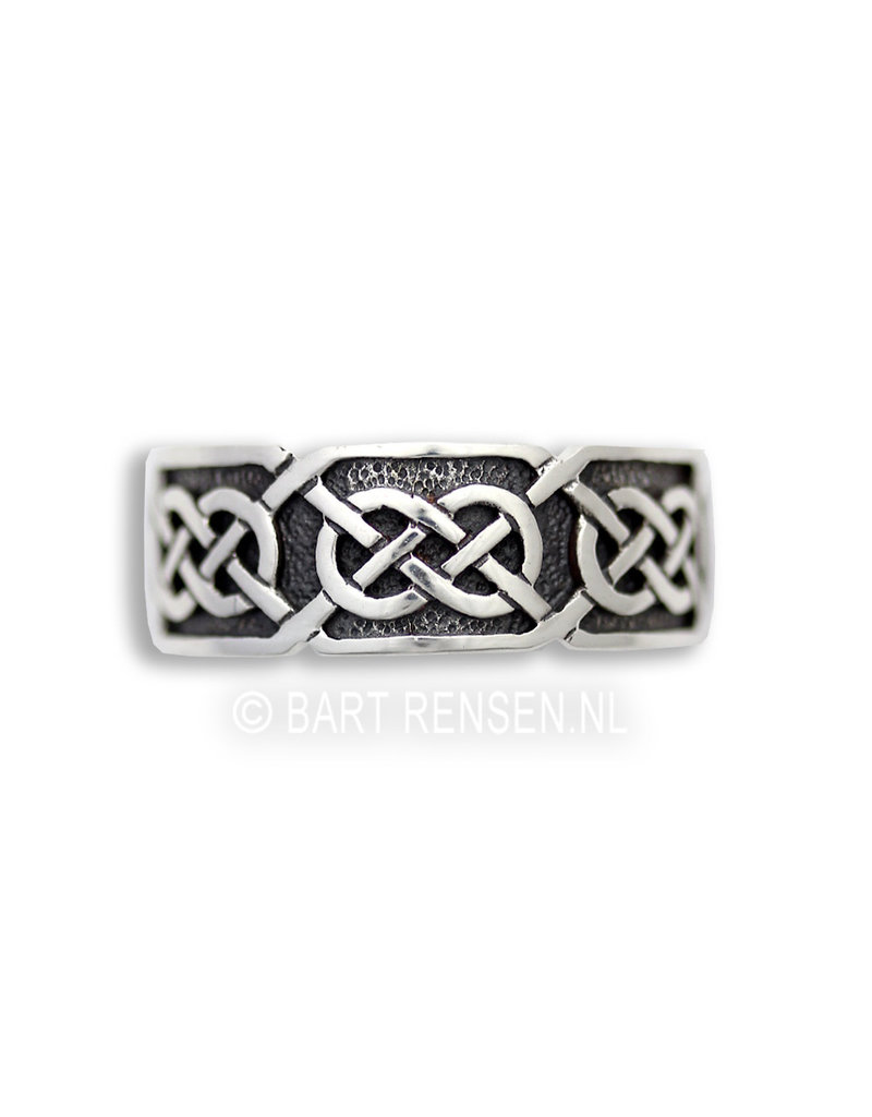 Celtic Ring - sterling silver