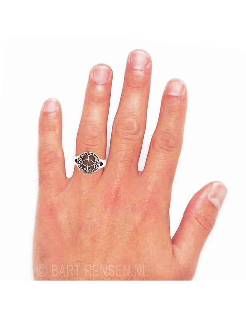 Vesica Pisces  - echt zilver