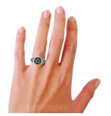 Pentagram Ring - echt zilver