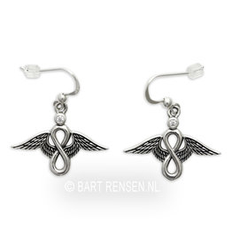Lemniscate Angel Earrings
